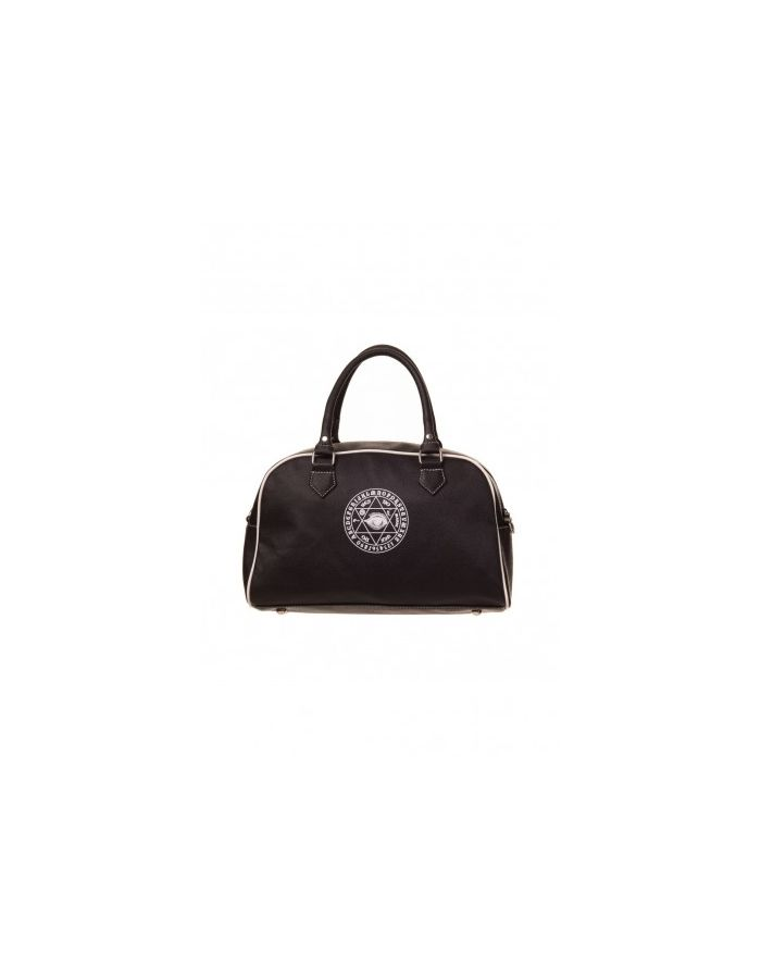 Banned Ouija Black Magic Occult Spells Eye Pentagram Witchcraft Handbag