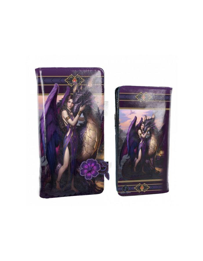 Fantasy Dragon Sanctuary Princess Embossed Purse Wallet