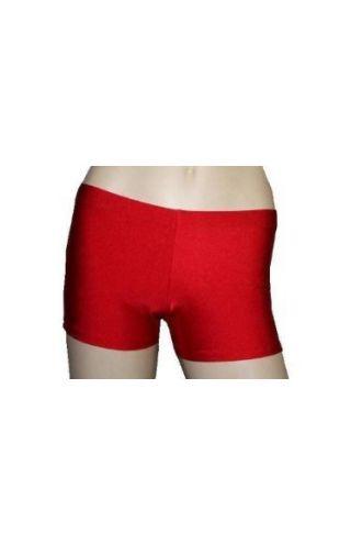 Neon UV Red Hot Pants/Shorts