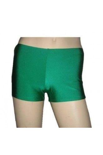 Dark Green Hot Pants - Shorts