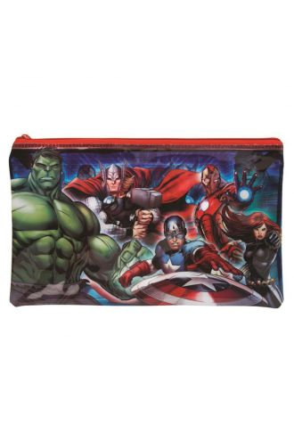 Marvel Avengers Zip Up Large School Pencil Case