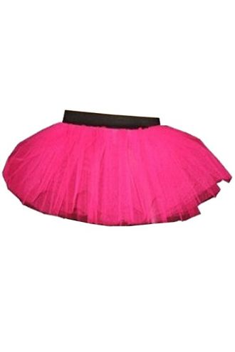 Pink Neon-UV Children's/Kids Tutu Skirt
