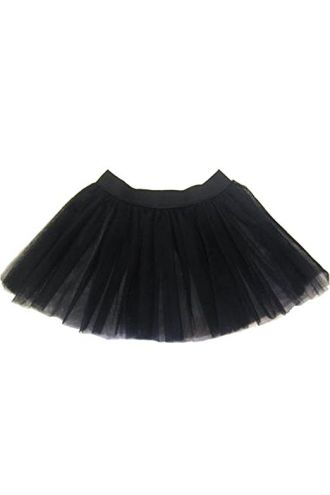 Black Children's/Kids Tutu Skirt