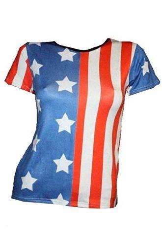 USA Flag Stars & Stripe T-shirt