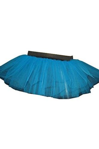 Blue Neon-UV Children's/Kids Tutu Skirt