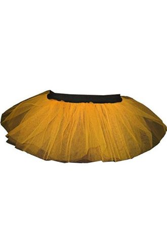 Orange Neon-UV Children's/Kids Tutu Skirt