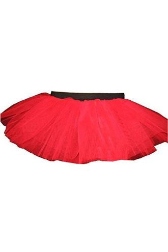Red Neon-UV Children's/Kids Tutu Skirt