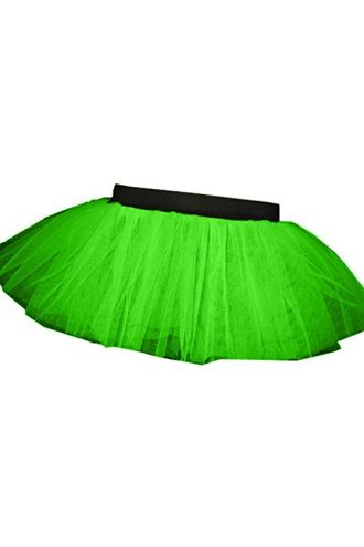 Green Neon-UV Children's/Kids Tutu Skirt