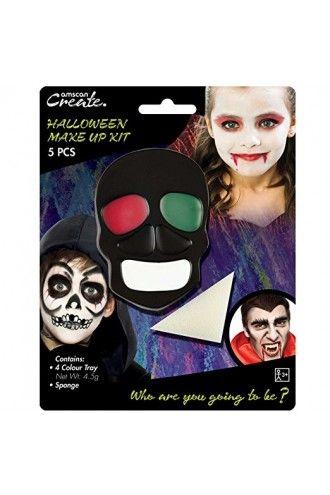 Halloween Vampire Horror Zombie Make Up Fancy Dress Party Sponge Kit 5 PCS