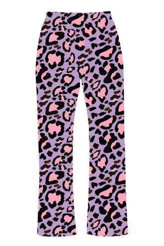 Classic Pink & Purple Animal Printed Loungewear Sleepwear Pyjama Bottoms