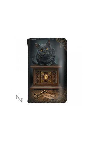 Pandora's Box Kitten Lock And Key Fantasy Wallet Purse