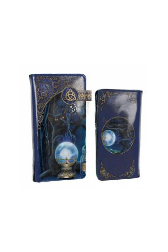 The Witches Apprentice Mystic Cat Embossed Purse Wallet