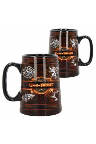 Game Of Thrones Sigil Rustic Boxed Tankard Mug