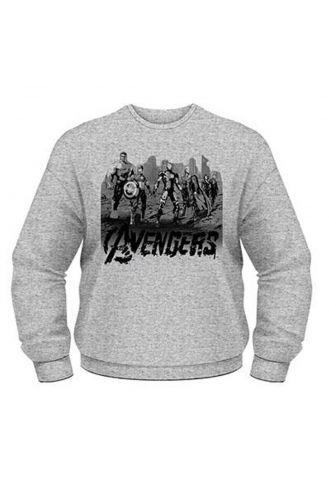 Marvel Avengers Age Of Ultron Team Art Graphic Unisex Sweatshirt Jumper