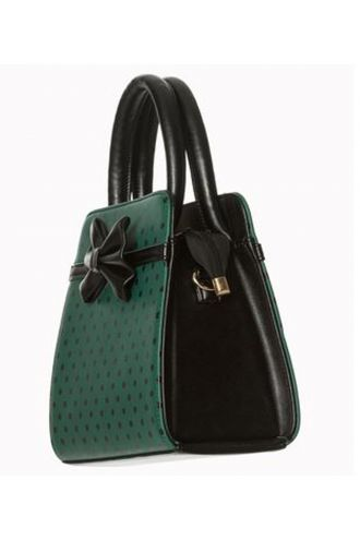Banned Vintage Style Retro Rockabilly Polka Dot Classic Handbag