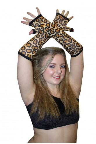 Original Leopard Animal Gloves