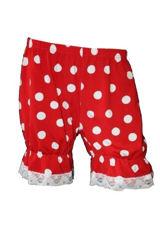 Minnie Polka Dot Short Bloomers