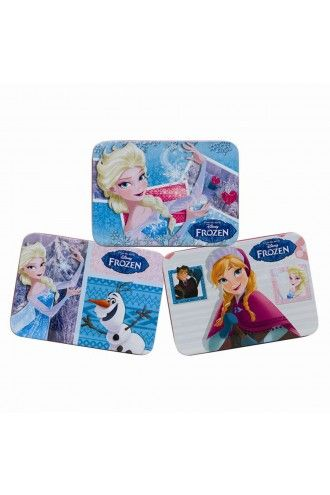 Disney Frozen Queen Elsa Olaf Anna Storage Keepsake Gift Tin Case 3 Designs