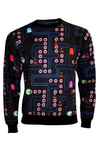 Cherry Skull Zombie Pacman Sweatshirt Jumper Top