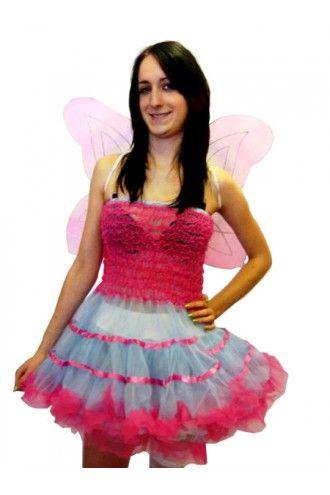 Pink Fairy Fancy Dress Costume
