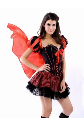 Red Riding Hood Adult Halloween Fancy Dress Costume