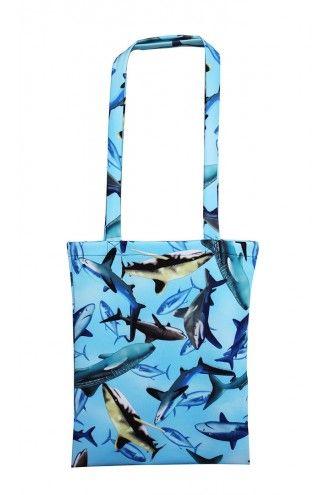 Spectacular Sharks Scuba Tote Bag