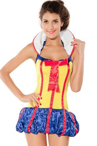 Snow Princess Fairy Tales Halloween Fancy Dress Costume