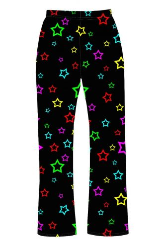 Rainbow Stars Multi Colour Printed Loungewear Sleepwear Pyjama Bottoms