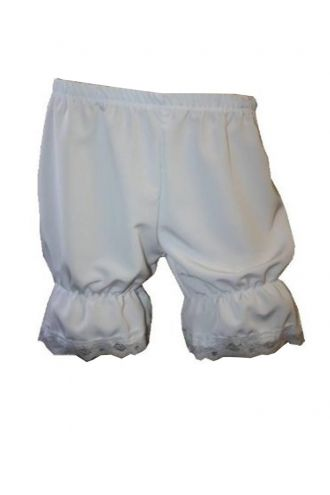 White Steampunk Fancy Dress Short Bloomers