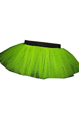 Yellow Neon-UV Children's/Kids Tutu Skirt