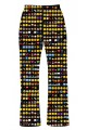 Emoji Smiley Emoticon Icons Alternative Printed Loungewear Sleepwear Pyjama Bottoms Pants