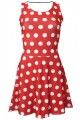 Classic Minnie Polka Dot Printed Skater Dress