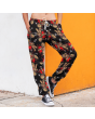 Unisex Gothic Voodoo Doll Fleece Printed Sweatpants Jogging Bottom